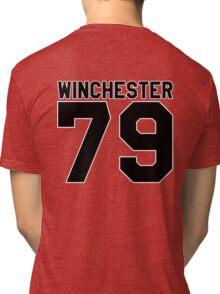Dean Winchester (Jersey) Tri-blend T-Shirt