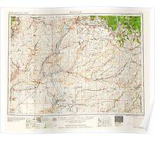 USGS Topo Map Washington State WA Ritzville 243470 1959 250000 Poster