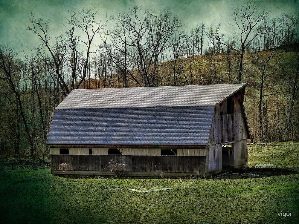 A Barn on a farm by vigor