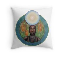 Mandala : Breathe Throw Pillow