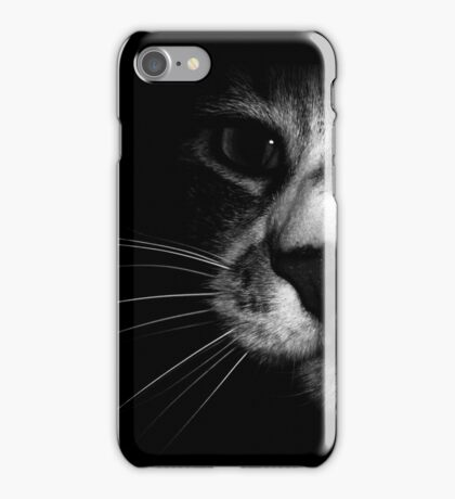 Cat Face iphone iPhone Case/Skin