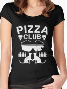Pizza Club Women's Fitted Scoop T-Shirt