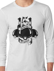 151 - Poke'dex Original (Light) Long Sleeve T-Shirt