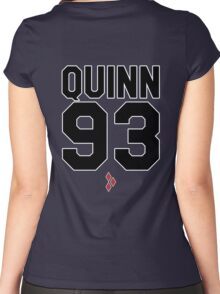 Harley Quinn (Jersey) Women's Fitted Scoop T-Shirt