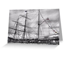 Glenlee coloured flags Greeting Card