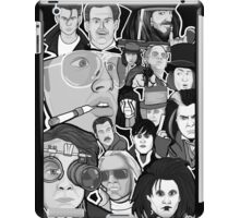 johnny depp character collage iPad Case/Skin