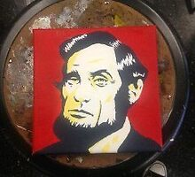 Abraham Lincoln by a 15 year old by albertyanez