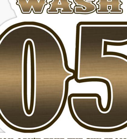 TEAM SERENITY : WASH Sticker