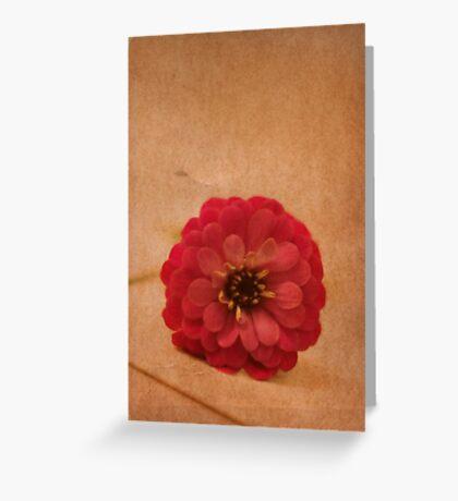 fallen Greeting Card