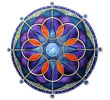 Mandala : Mystery Moon  Photographic Print