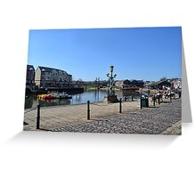 Exeter Quays, Exeter, Devon UK Greeting Card