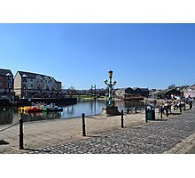 Exeter Quays, Exeter, Devon UK Photographic Print