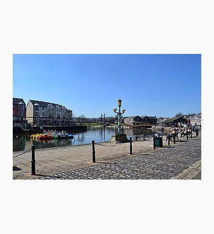 Exeter Quays, Exeter, Devon UK Photographic Print