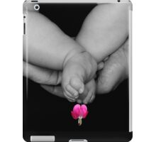 PRECIOUS IS LIFE..PRECIOUS IS FAMILY..AND THE GENERATIONS THAT FOLLOW..THE HEART...AND LOVE...APPAREL iPad Case/Skin