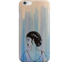 Watercolor Portrait iPhone Case/Skin