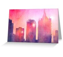 Ethereal Skyline Greeting Card