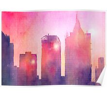 Ethereal Skyline Poster