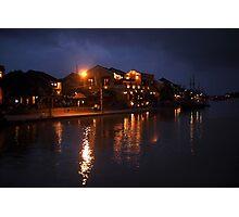 Thu Bon River By Night Photographic Print