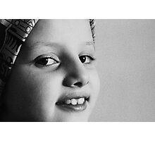 YoYo In Black & White Photographic Print