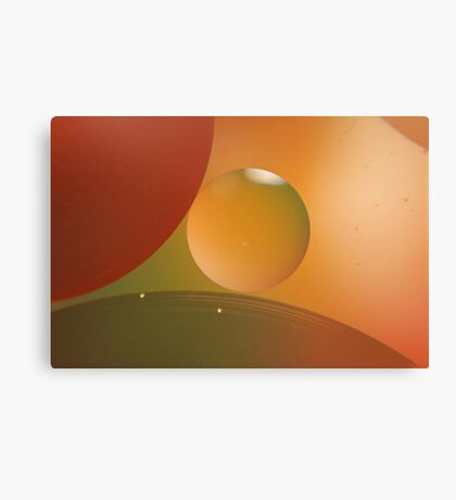 Retro Orange Canvas Print