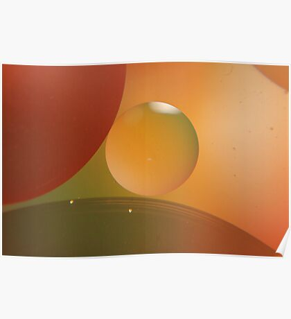 Retro Orange Poster