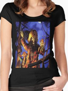 Curse of monkey island Women's Fitted Scoop T-Shirt