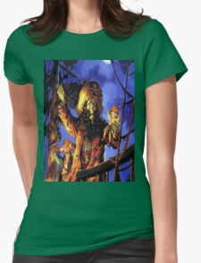 Curse of monkey island Womens Fitted T-Shirt