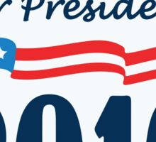Vote For Hillary 2016 Sticker