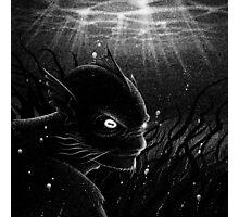 Drawlloween 2015: Creature from the Black Lagoon Photographic Print