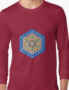 Mandala :  Life's Fruit   Long Sleeve T-Shirt