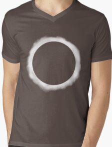 Eclipse  Mens V-Neck T-Shirt
