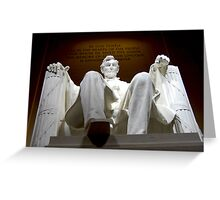 Lincoln Memorial, Washington DC Greeting Card