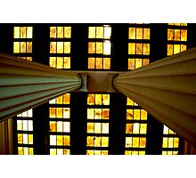 Ceiling tiles at the Lincoln Memorial Photographic Print