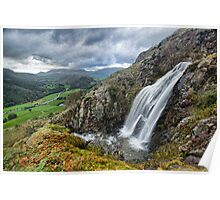 Thirlmere to Blencathra view Poster