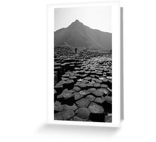 Causeway of Giants Greeting Card