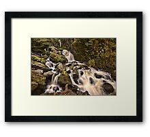 Lodore Falls Framed Print