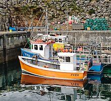 Grimsay Harbour by Kasia-D
