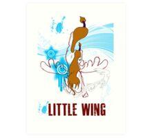 Little Wing Keyblade Art Print