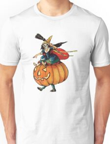 Queen Reaper (Vintage Halloween Card) Unisex T-Shirt