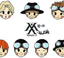 Monsta X by nchaos