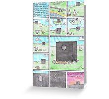 The Duckbox Saga: Tear Duckts Greeting Card