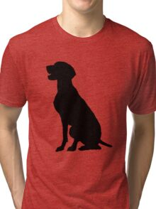 German Pointer Tri-blend T-Shirt
