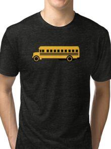 School bus Tri-blend T-Shirt