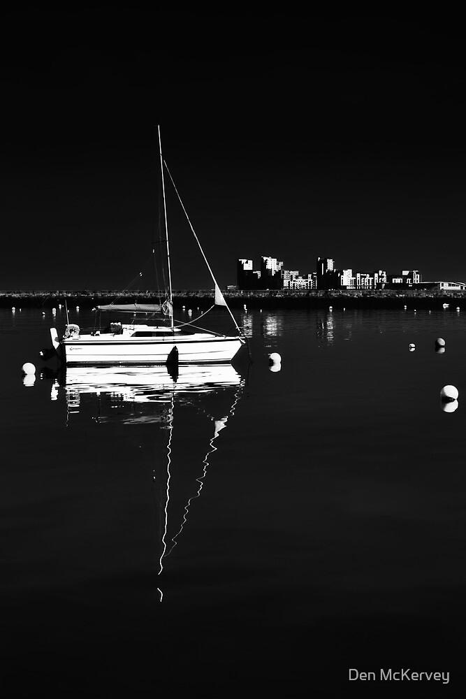 Granton Harbour, Edinburgh, Scotland by Den McKervey