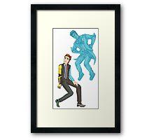 rhys & jack Framed Print