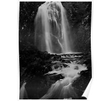 Thirlmere waterfall Poster