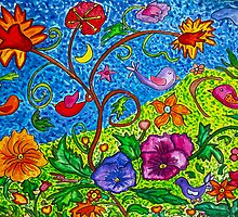Dancing Florals by Monica Engeler