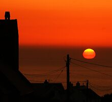 Rhossili sunset! by ThePigmi