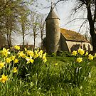 Springtime at Southease by mikebov