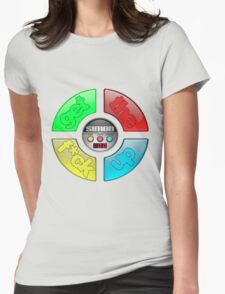 Simon Says Womens Fitted T-Shirt